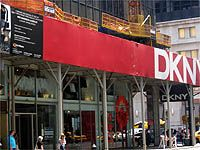 DKNY, which is New York based brand, Donna Karan's second line has its main boutique at the corner of Madison Ave. & 60th Ave., just opposite of Berney's New York as well as Soho's West Broadway.  City of New York : Top Brand Boutique, Flagship Shops | New York Shopping