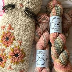 Loop | London (@looplondonloves) • Instagram photos and videos Dottie Angel, Muted Colors, Pink And Green, Knit Crochet, Crochet Patterns, Reusable Tote Bags, London, Embroidery, Wool