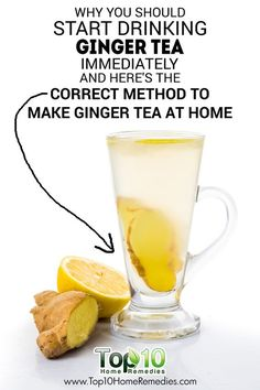 DIY Ginger Tea and Its Health Benefits Why You Should Start Drinking Ginger Tea Immediately and Here& The Correct Method to Make Ginger Tea at Home! The post DIY Ginger Tea and Its Health Benefits & Ginger appeared first on Ginger water . Water Recipes, Yummy Recipes, Detox Recipes, Healthy Recipes, Drink Recipes, Ginger Drink Recipe, Ginger Tea Recipes, Homemade Ginger Tea, Detox Drinks