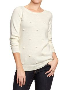 Women's Embellished Sweaters Product Image