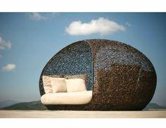 sommer Rattanmöbel polyrattan garten ideen liege lounge