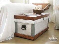 Pottery Barn Trunk Knock-Off