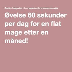 Dummdidum....hva med litt planken? 30 day challenge: 60 sek om dagen :)