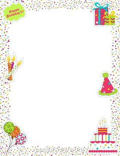 <<DIRECTLY FROM SITE>> Birthday Border