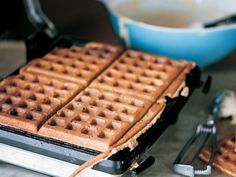 """Five-Grain Cream Waffles"" from Cookstr.com #cookstr"