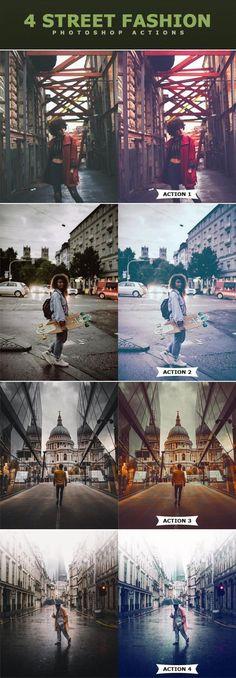 Street Fashion Photoshop Actions - Envato Market #Photoshop #Action #PhotoshopAction #PhotoEffect #photo #design #BestDesignResources #CreativePhotography