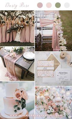 Blush Wedding Colors, Pink Wedding Theme, Pink And Gold Wedding, Gold Wedding Decorations, Wedding Color Schemes, Spring Wedding Themes, Elegant Wedding Colors, Spring Weddings, Dream Wedding