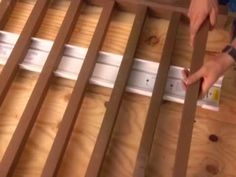 diy basic deck railing