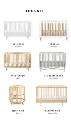 Creating a Smart Baby Registry - Cribs Baby Bassinet, Baby Cribs, Small Baby Bed, Baby Registry Essentials, Baby Shower Registry, Best Crib, Best Baby Carrier, Minimalist Baby, Baby Room Design