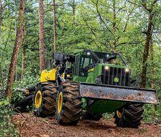 John Deere logging equipment