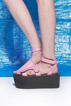 All Time Platform Shoe (Pink)