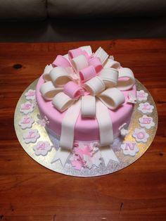 Girls baptism cake. Order now jusdeb1@gmail.com
