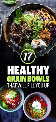 17 Healthy Grain Bowls You Should Make For Dinner