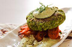 Shiitake Green Garbanzo Patties Recipe http://greatist.com/eat/creative-chickpea-recipes