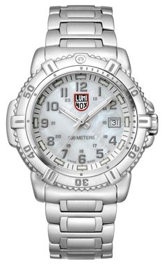 Luminox Ladies 38mm Stainless Steal Bracelet With Mother of Pearl Face