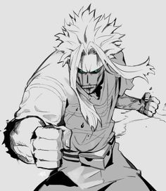 All Might, blood, cool, angry; My Hero Academia