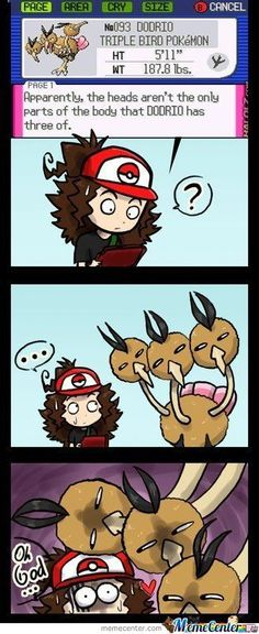 o_o the three muske-dicks! Wanted for rape... #Pokemon #Funny