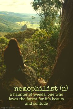 unusual travel words - nemophilist