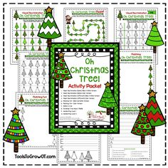 Oh Christmas Tree! Activity Packet. This is an 11 PAGE PDF with a Christmas Tree Theme. Topics Include: Visual Discrimination Same and Different, Scissor Skills and Sequencing, Visual Motor Integration Maze and Riddle, and Handwriting.