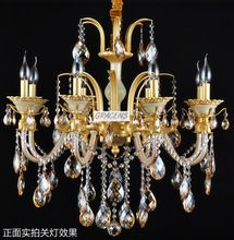 NEW! Free Shipping Luxury Chandelier Crystal Lamp with Zinc Alloy Arms and 5 Year Warranty (A CCLDS13625-8)(China (Mainland))