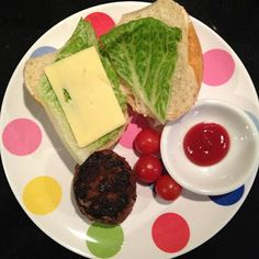 Easy Toddler Food: Open Burgers
