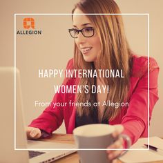 """""""Here's to strong women. May we raise them."""" - Unknown Allegion Canada would like to celebrate our female employees and wish everyone a Happy International Women's Day! Happy International Women's Day, Safety And Security, Strong Women, Commercial, Canada, Female, Celebrities, Celebs, A Strong Woman"""