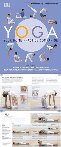Yoga: Your Home Practice Companion Meditation Exercises, Yoga Books, Movie Posters, Film Poster, Popcorn Posters, Film Posters, Poster