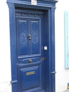 Porte bleue de Toulouse