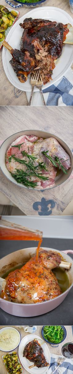 Sticky Slow Roast Lamb - So easy and perfect for Easter Sunday!