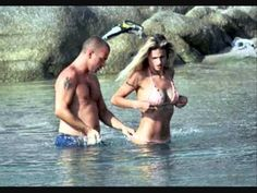Eros Ramazzotti e Michelle Hunziker con Aury