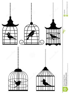 Bird In Cage Royalty Free Stock Images - Image: 19395989