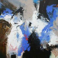 110x110 cm See the making of my paintings: www.youtube.com/vanjanjan