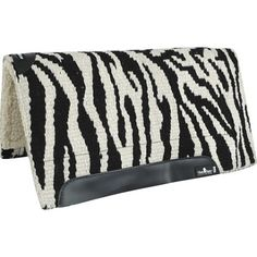 Classic Equine Zebra SensorFlex Western Saddle Pad and Western Wool and Felt Saddle Pads   EQUESTRIAN COLLECTIONS.COM