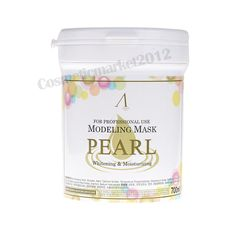 ANSkin] Modeling Mask 700ml #Pearl Free gifts, in [Health & Beauty, Skin Care, Masks & Peels | eBay