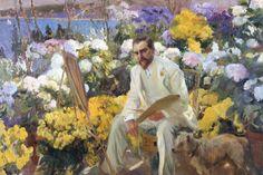 Joaquin Sorolla. Louis Comfort Tiffany, 1911. Oil on canvas, 150 x 225.5 cm On loan from the Hispanic Society of America, New York, NY Photo (c) Courtesy of The Hispanic Society of America, New York