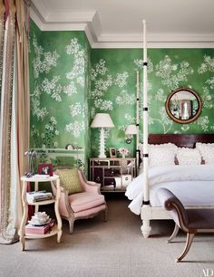 Chinoiserie Wallpaper and Panels Take the Stage in These 12 Rooms | Architectural Digest
