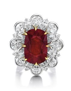 An Important and Spectacular Ruby and Diamond Ring