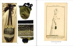 Book: Regency Fashion: taking a turn through time. Vol 3 - ladies' accessories. Sylvestra Regency. Example pages! http://www.blurb.co.uk/search/site_search?search=sylvestra+regency