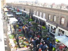 Columbia Road Flower Market (Sundays only. Take the Central Line to Shoreditch High Street.)