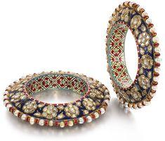 Kundan Bangles, Bridal Bangles, Wedding Jewelry, Wedding Accessories, Wedding Hair, Bridal Hair, Hair Accessories, India Jewelry, Gold Jewellery