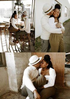 Couple Photoshoot Poses, Couple Photography Poses, Couple Posing, Couple Shoot, Engagement Photography, Black Love Couples, Cute Couples Goals, Engagement Photo Outfits, Engagement Couple