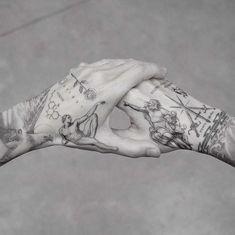 My best friend M R.k_tattoo 💥💥 - Hand Nail Design FoR Women Body Art Tattoos, Small Tattoos, Sleeve Tattoos, Water Tattoos, Ink Master Tattoos, Hand Tattoos For Guys, Tattoos For Women, Men Tattoos, Tatoos