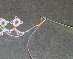 Tatting Fool: Loop Tatted Rings-- How and Why