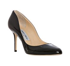 Jimmy Choo black patent leather 'Gilbert' pumps