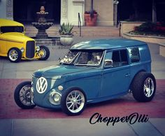 Best classic cars and more! Weird Cars, Cool Cars, Vw T1 Camper, Vw Conversions, Combi Split, Combi Wv, Vw Rat Rod, Auto Volkswagen, Vw Pickup