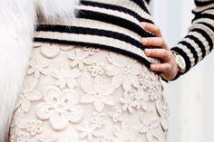 Embroidery, Rock, Fabric, Fashion, Timeless Fashion, Tejido, Moda, Needlepoint, Tela