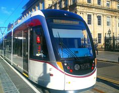 Edinburgh tram in St Andrew's Square