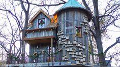 Dogwood Canyon Luxury Treehouse Exteror