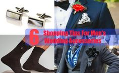 6 Shopping Tips For Men's Wedding Accessories