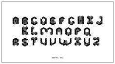 AHP Six, a hexagonal woodblock for letterpress printing